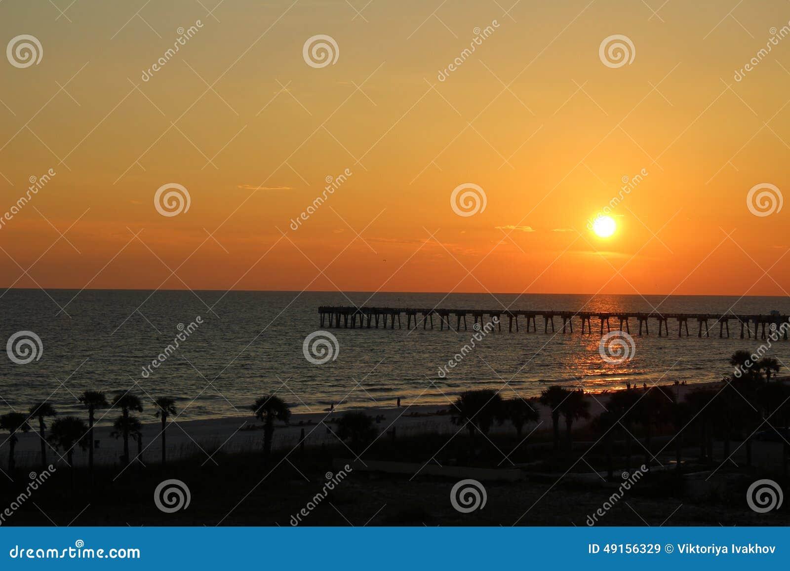 Sunset Time Panama City Beach