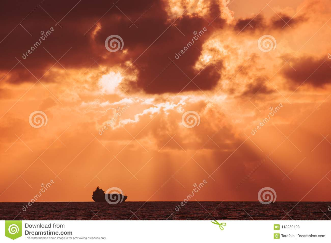 Sunset Over The Sea Backgrounds For Quotes Stock Photo Image Of