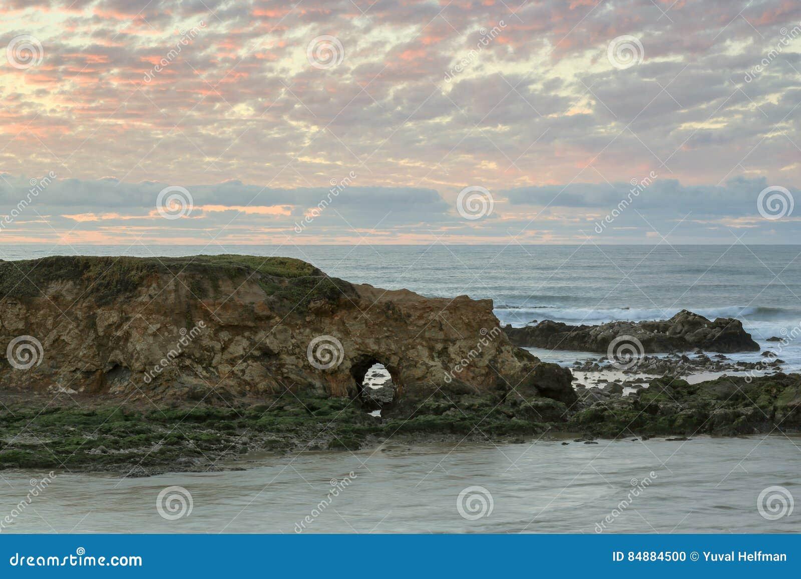 California san mateo county pescadero - Sunset At Pescadero State Beach San Mateo County California