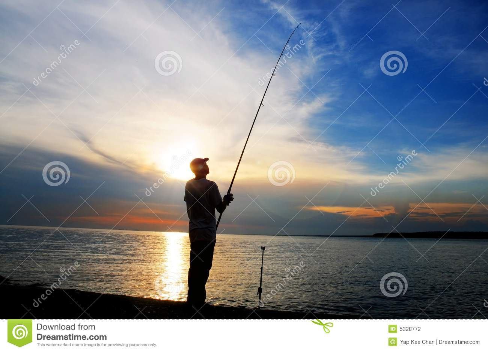 Sunset połowów