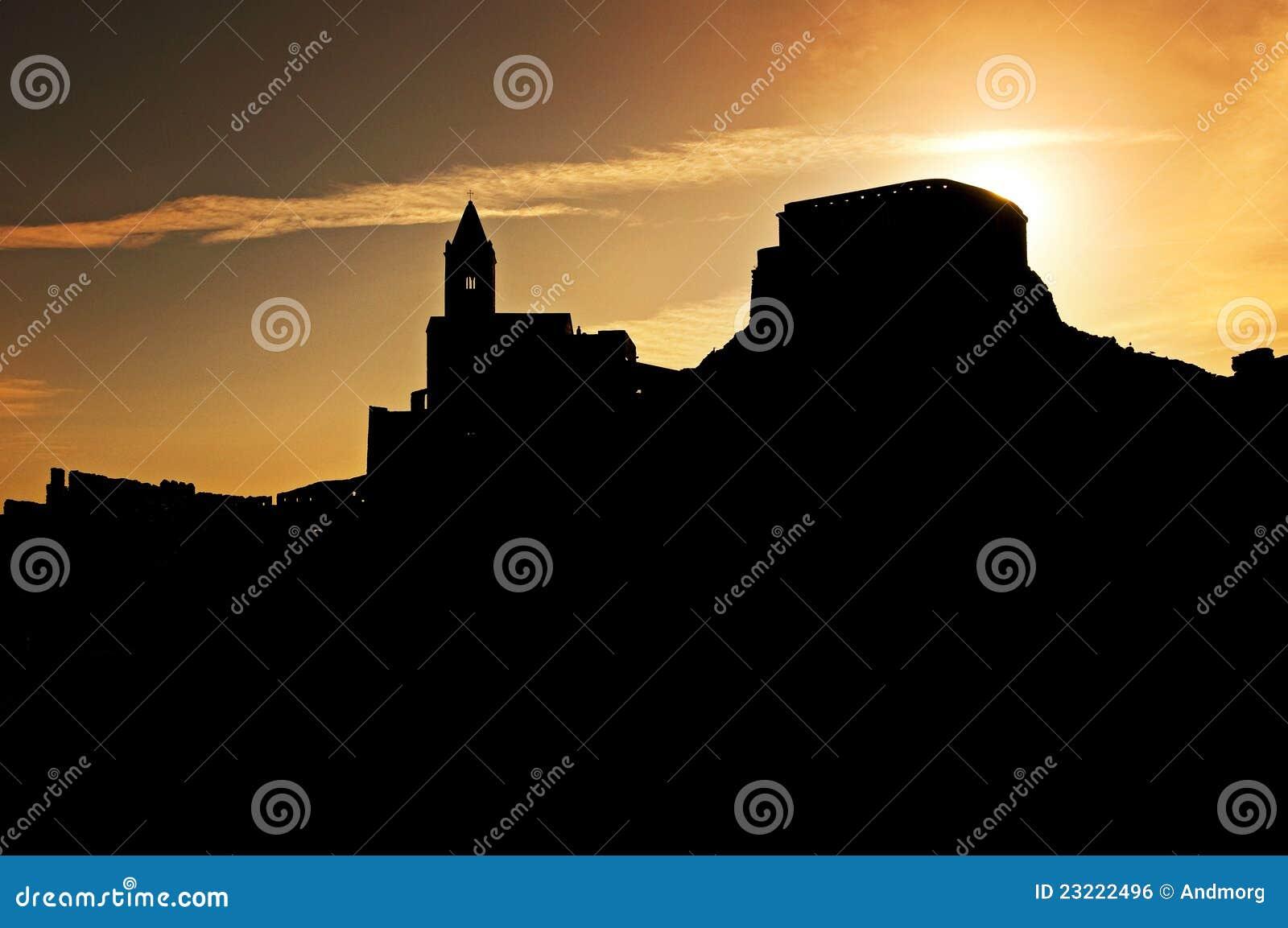 Sunset on Portovenere