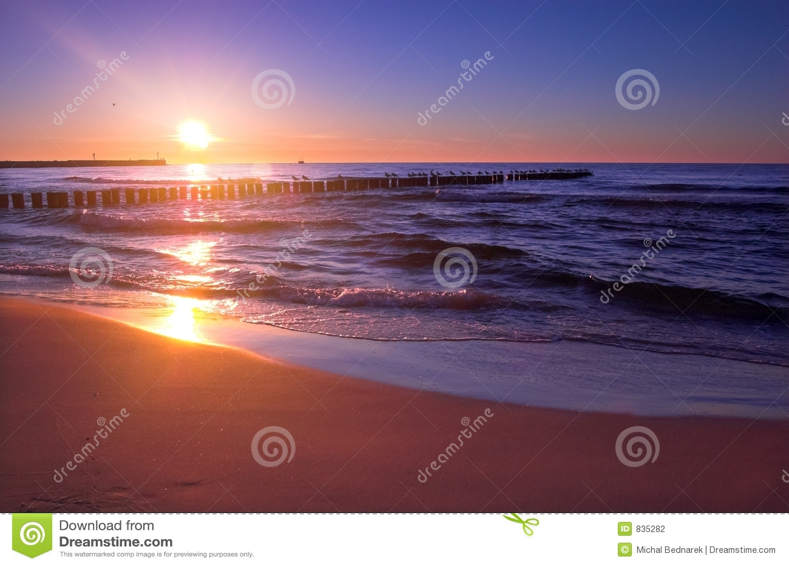 Sunset scenic