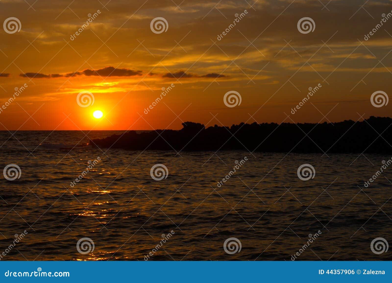 Sunset on Sicily