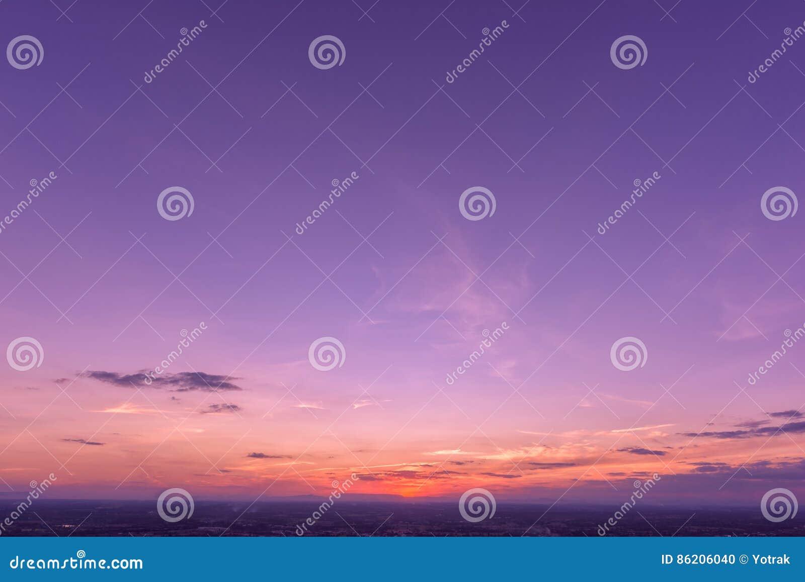 Sunset Sky Background Stock Photo Image Of Background 86206040