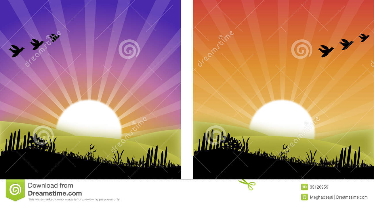 Sunset Sunrise Royalty Free Stock Images Image 33120959