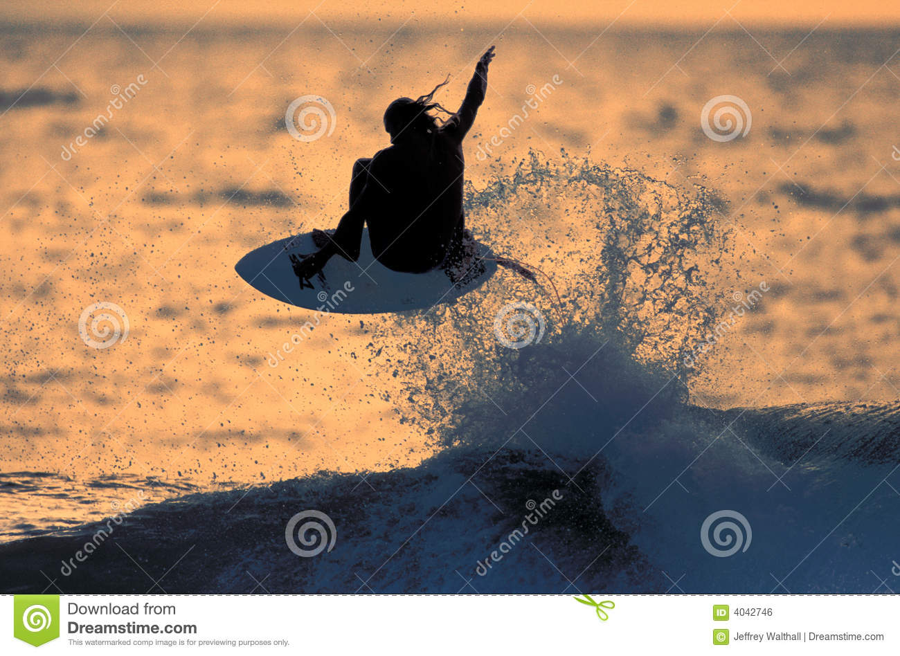 Sunset Surfer 1