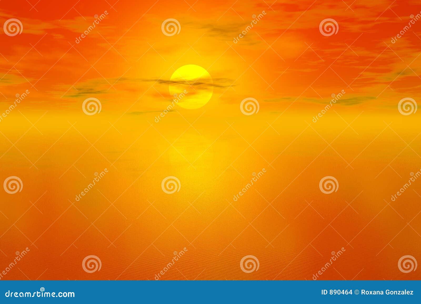 Sunset tło