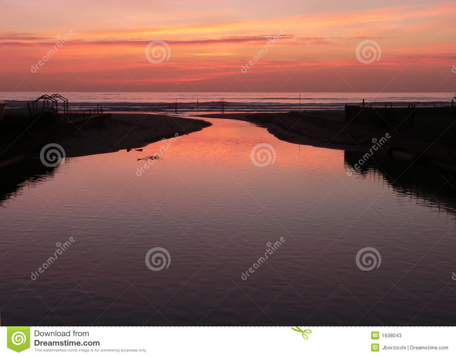 Sunset Toskanii viareggio