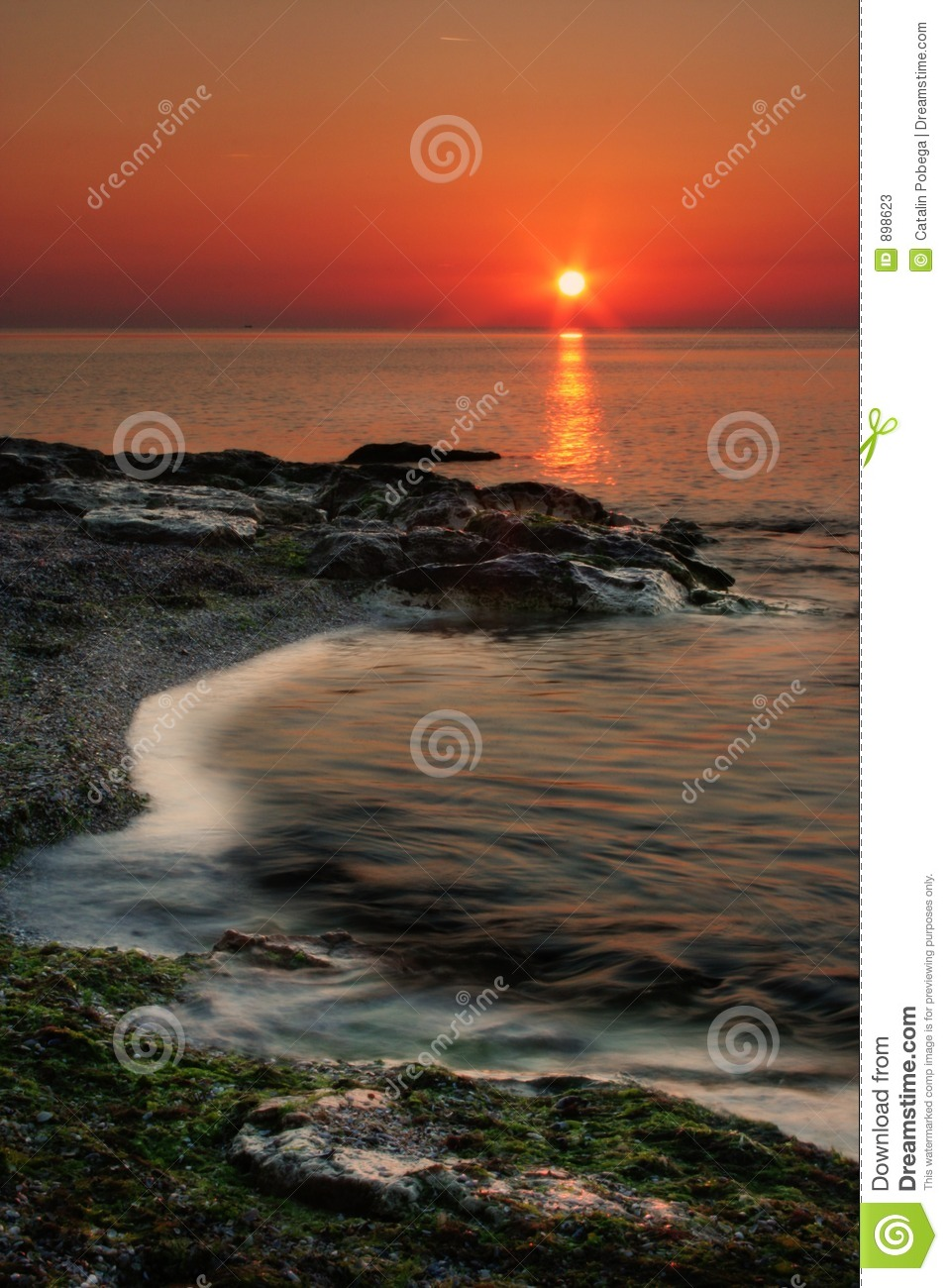 Sunset In Warm Colors Stock Photos Image 898623