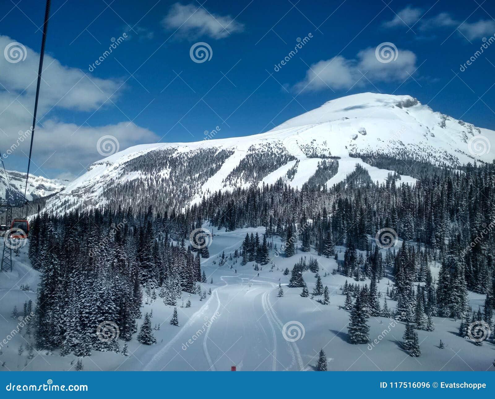 sunshine village ski resort, banff national park, alberta, canada