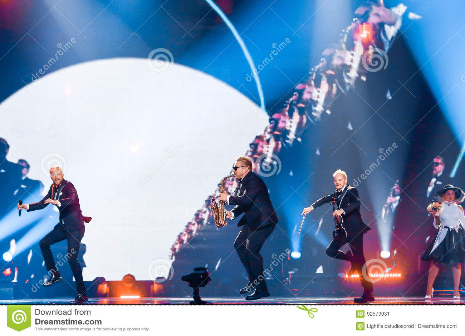 SunStroke Project From Moldova Eurovision 2017 Editorial