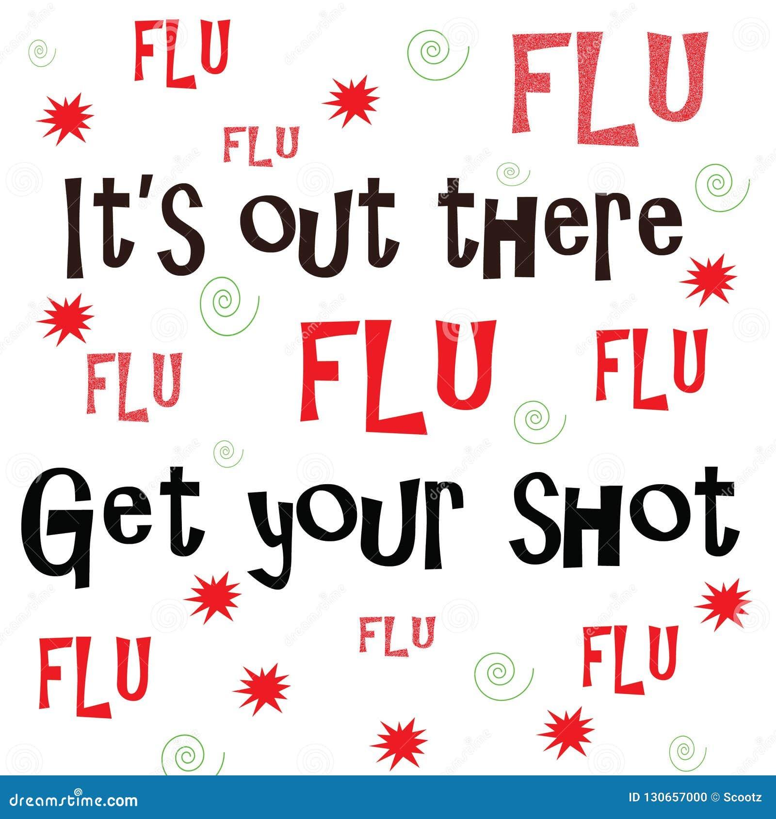 Suo là fuori, ottenga la vostra iniezione antinfluenzale
