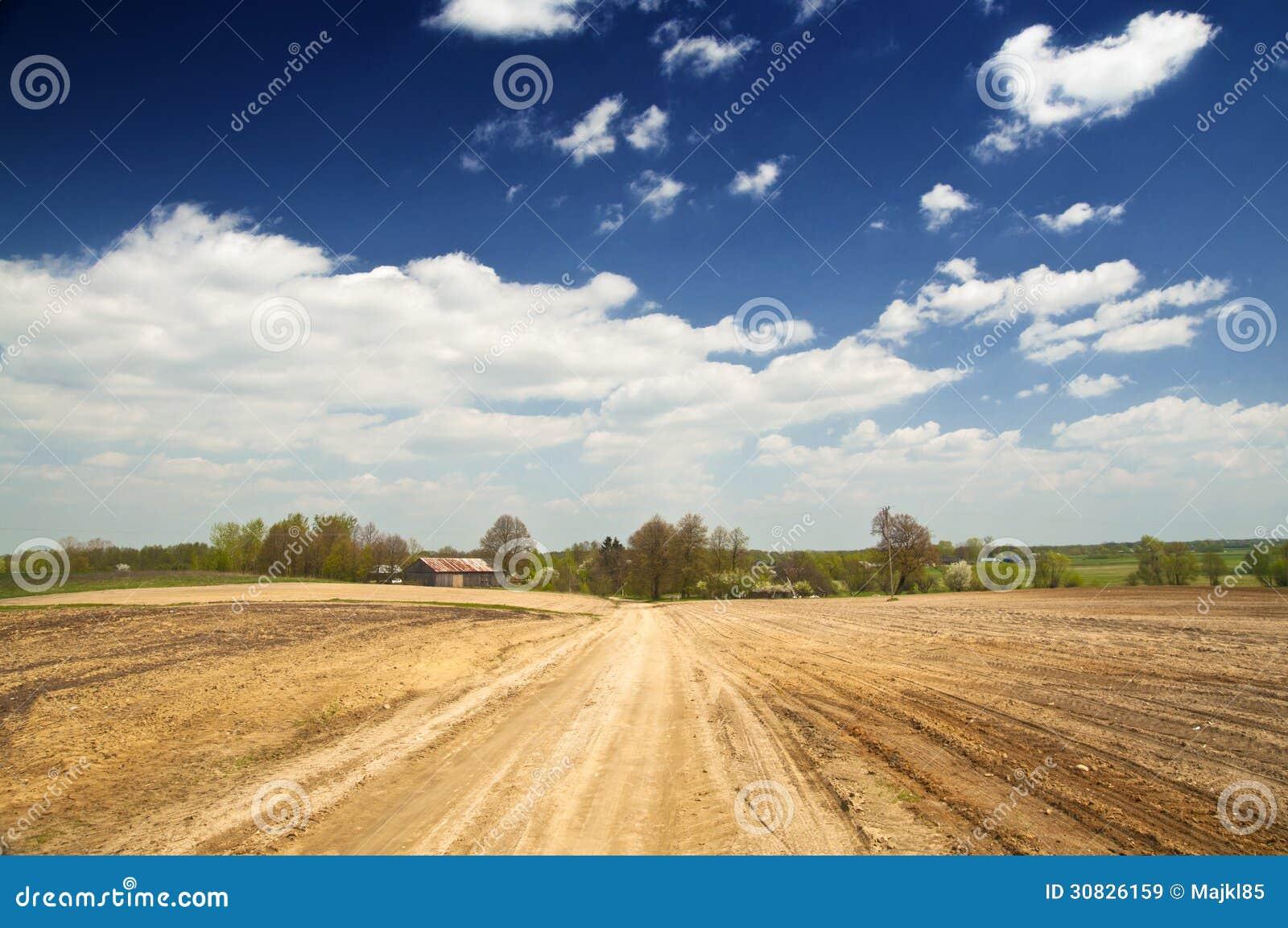Suoli vuoti, paesaggio rurale