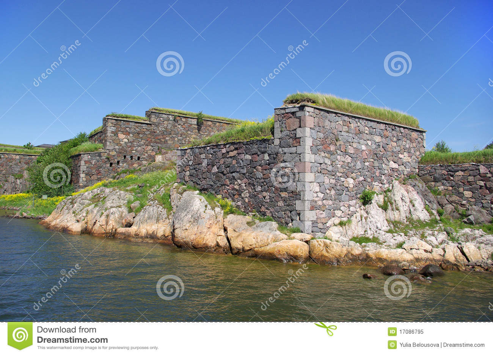 Suomenlinna Швеция моря крепости