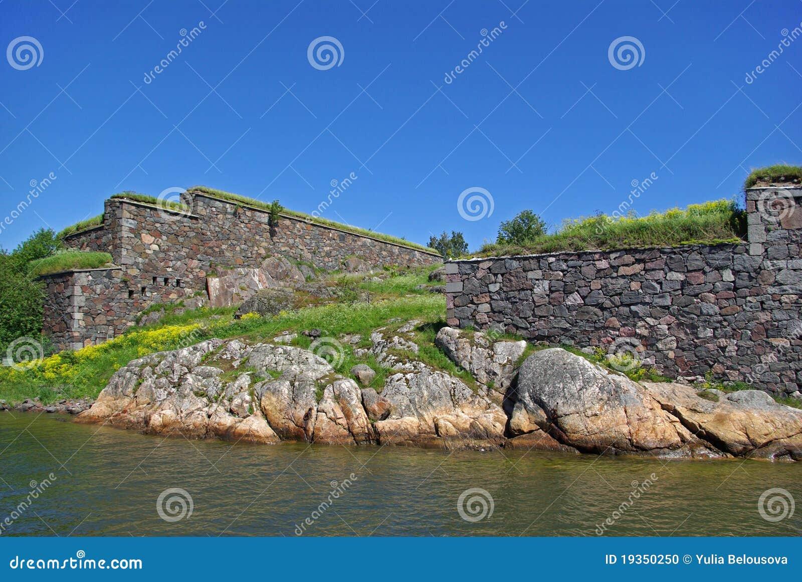 Suomenlinna - fortaleza do mar de sweden