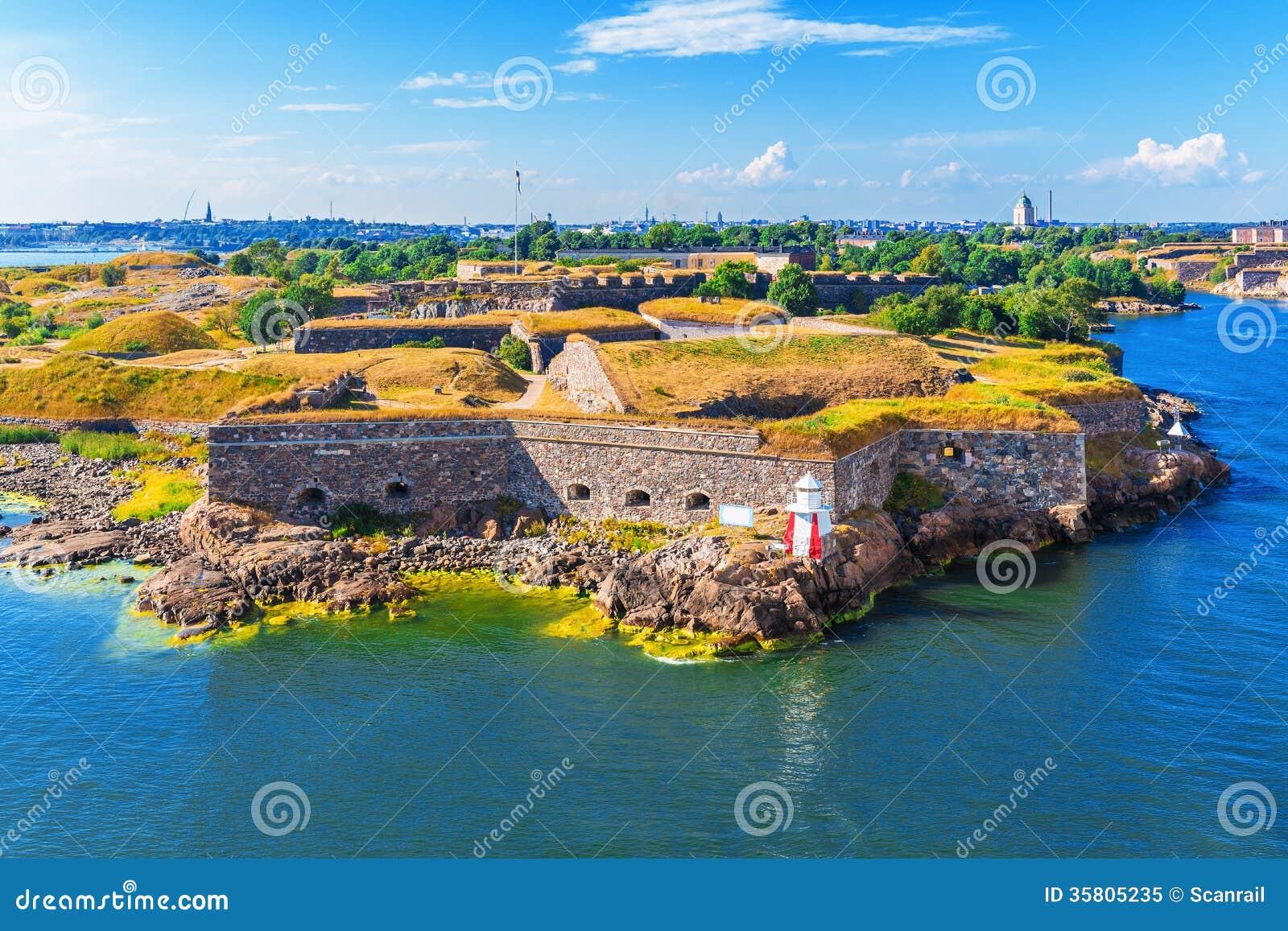 Suomenlinna (Sveaborg) fortress in Helsinki, Finland