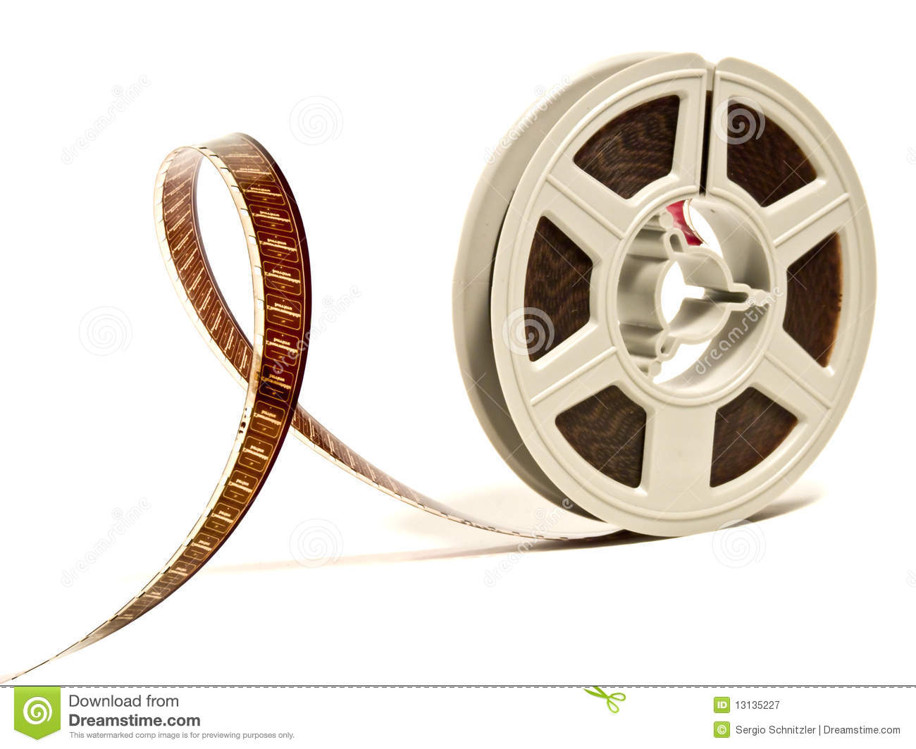 Super 8 color film reel stock image image of celluloid 13135227 royalty free stock photo altavistaventures Images
