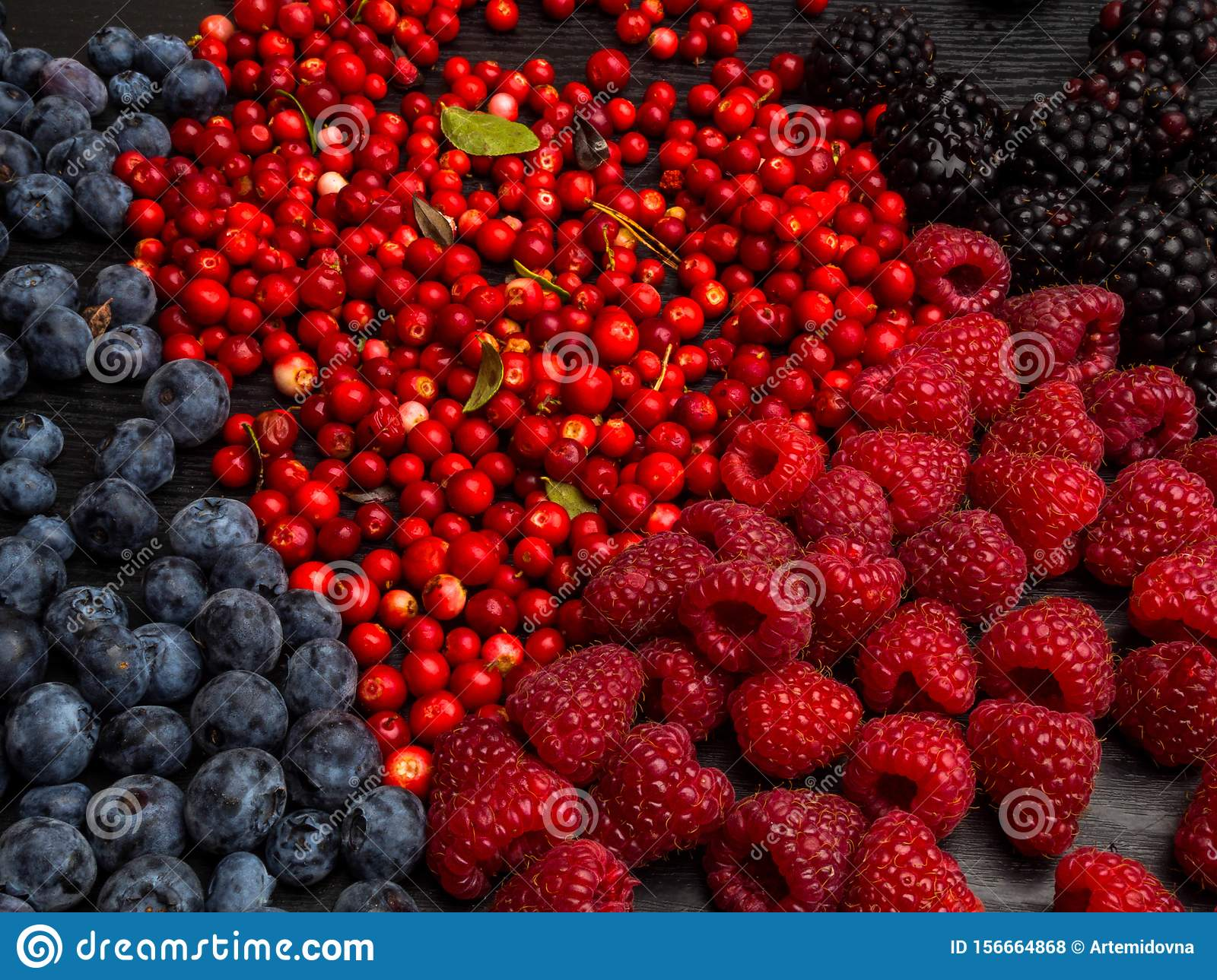 Super Antioxidants Superfood Mix Of Fresh Berries Rich With Resveratrol Vitamins Raw Food Ingredients Nutrition Background Stock Photo Image Of Antioxidants Ingredient 156664868