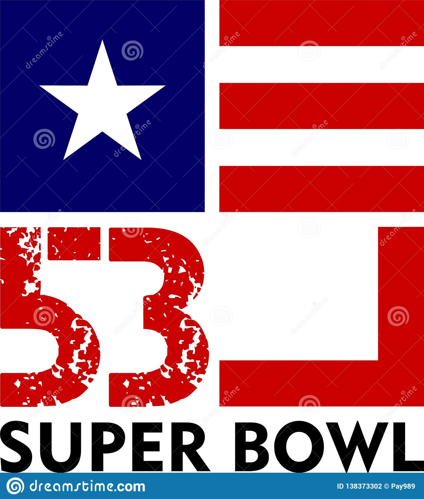 Super Bowl 53 stock illustration. Illustration of vector - 138373302 62ac5afb7