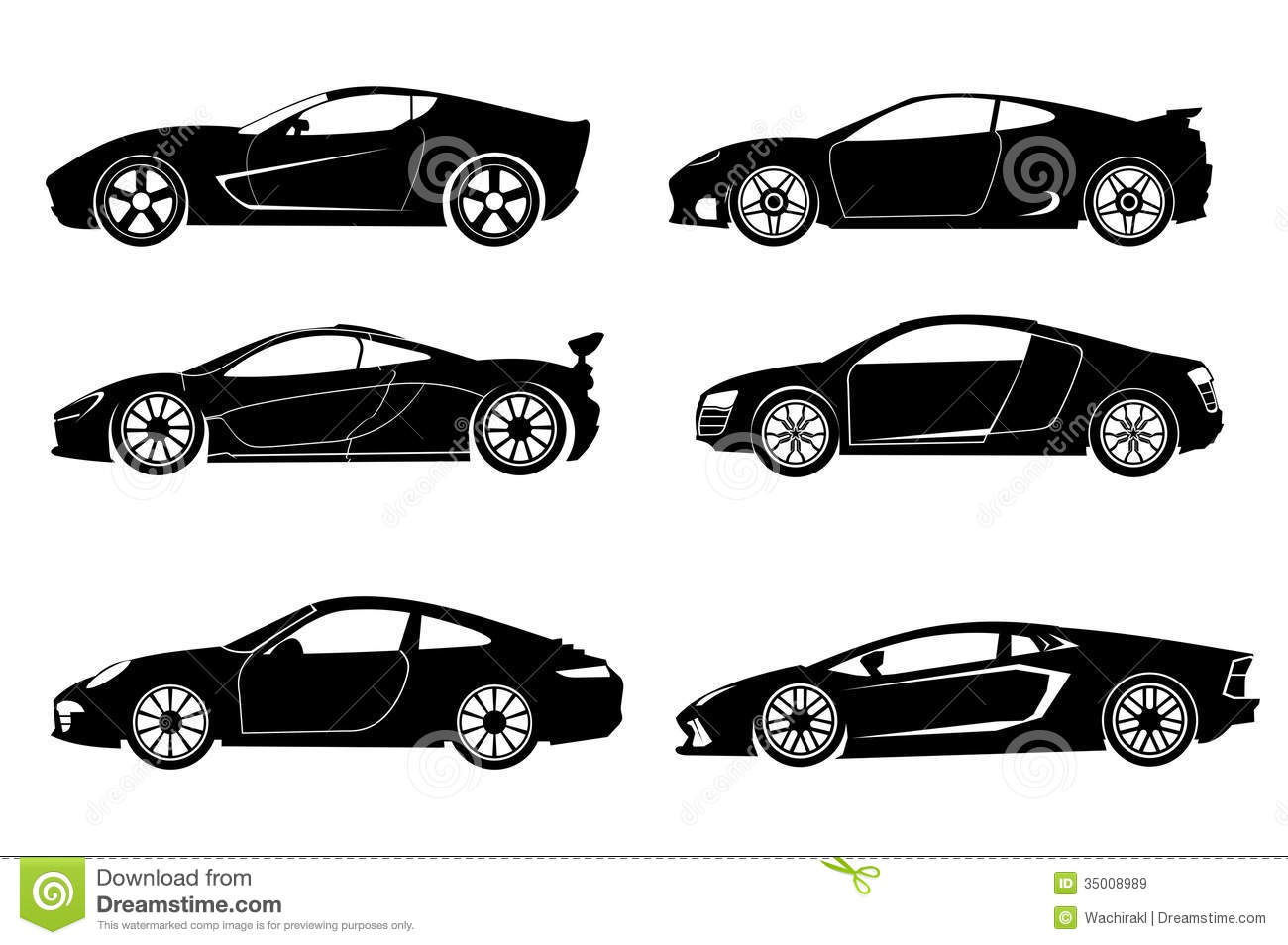 super car stock vector illustration of image artwork 35008989. Black Bedroom Furniture Sets. Home Design Ideas