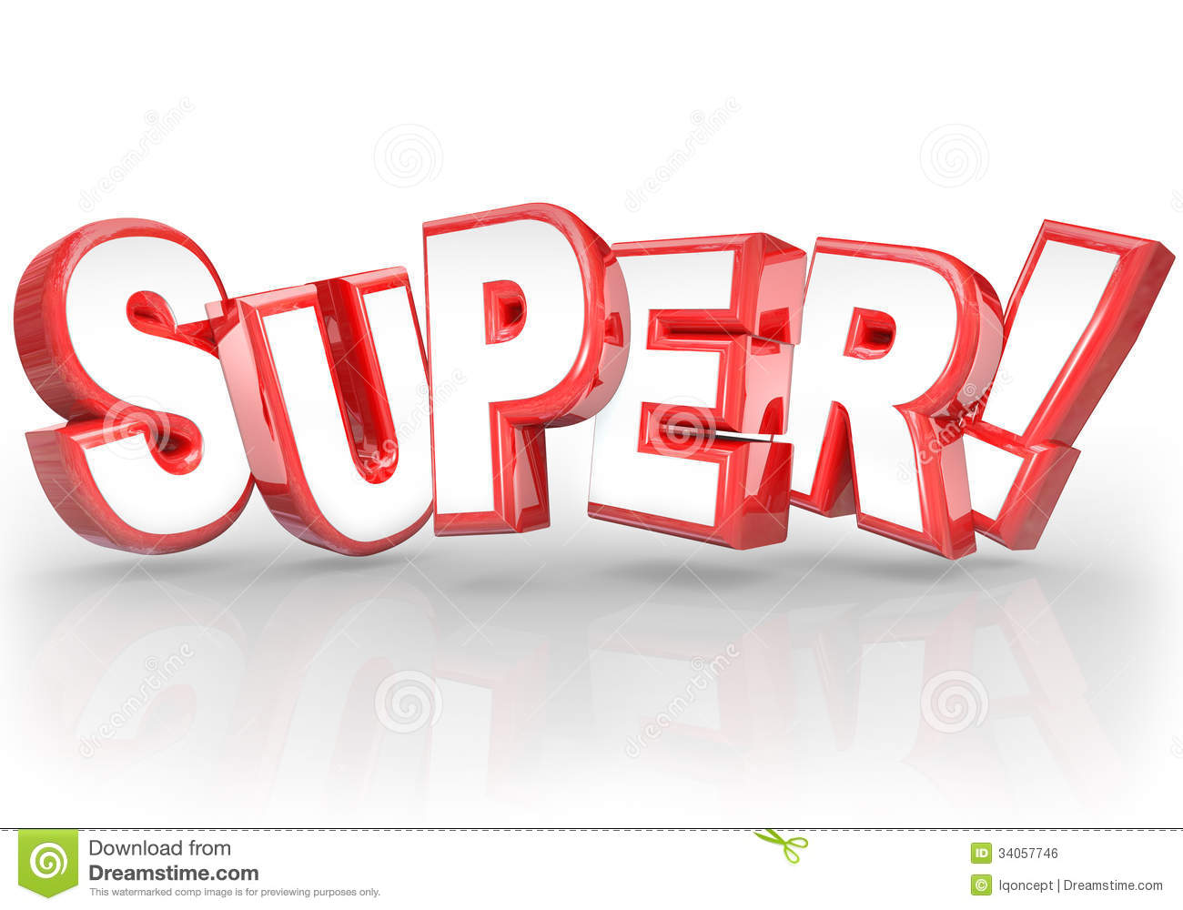 Super 3D Word Best Choice Powerful Great Compliment Royalty Free Stock ...
