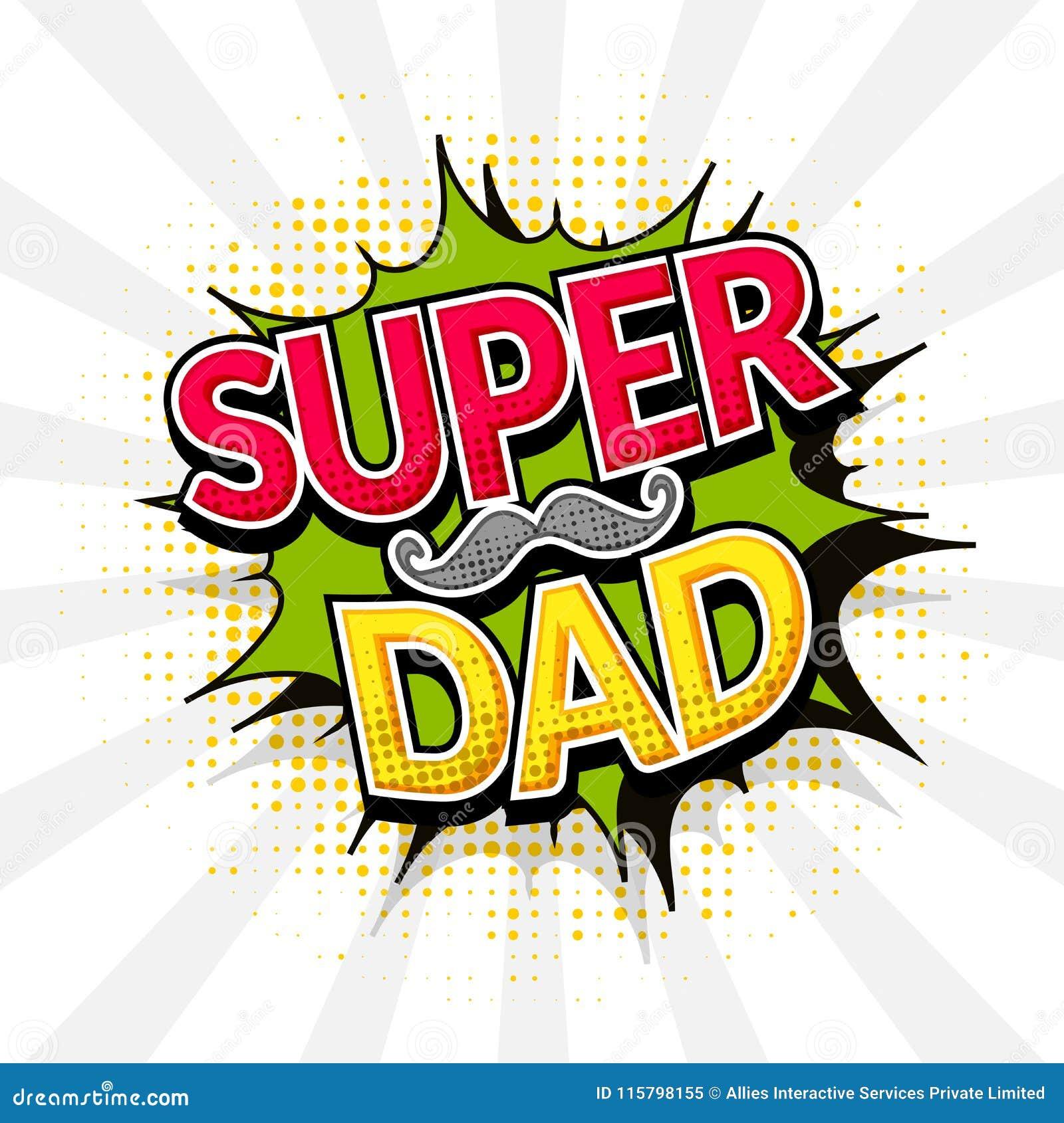 Transparent Super Dad Png - Super Dad Font Png