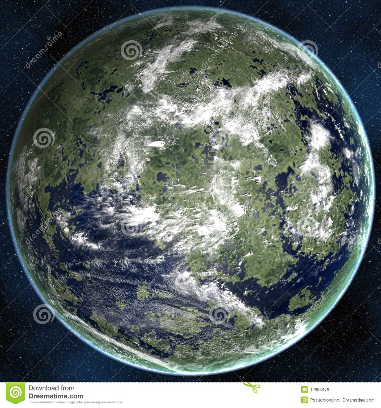 Super Earth Royalty Free Stock Image - Image: 12885476