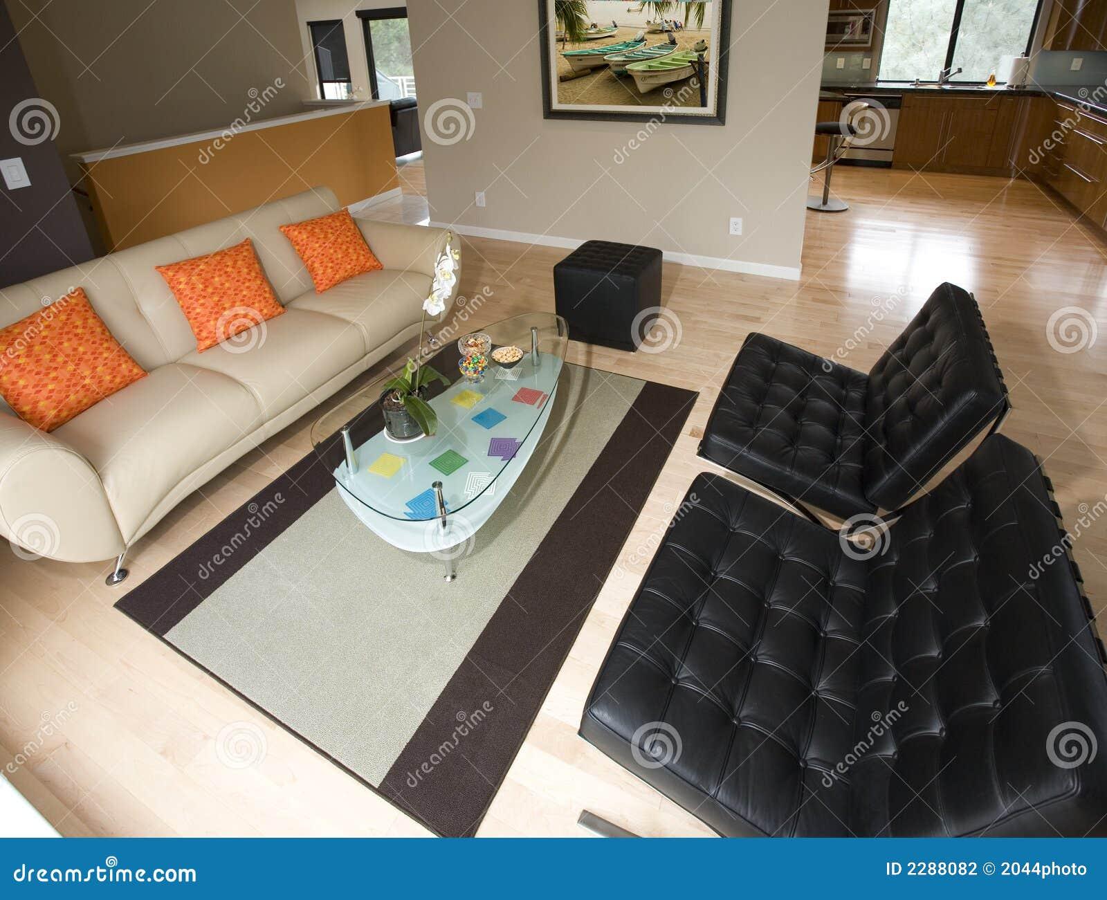Super eigentijdse woonkamer stock foto afbeelding 2288082 - Afbeelding eigentijdse woonkamer ...