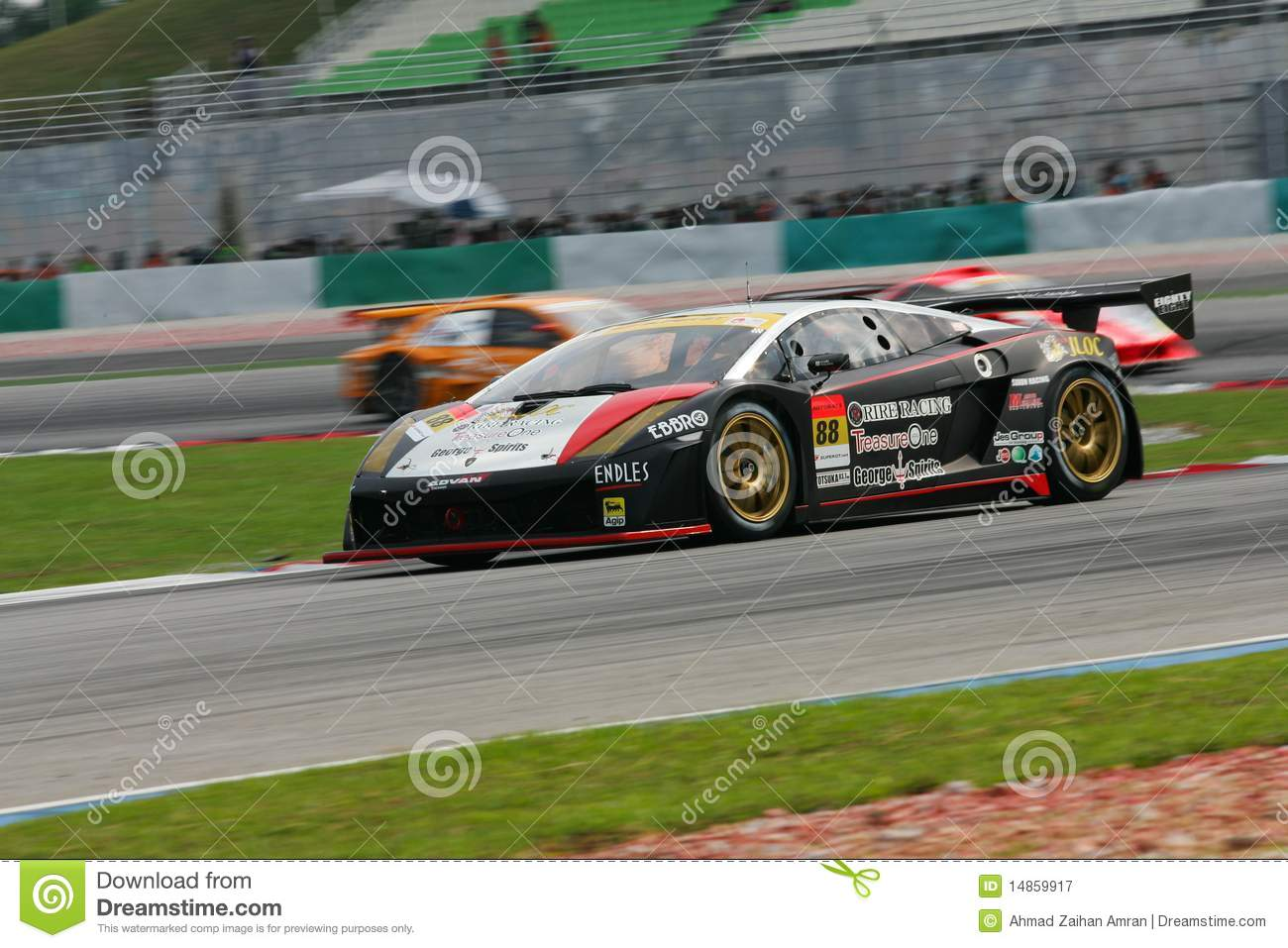 Super GT Championship in action
