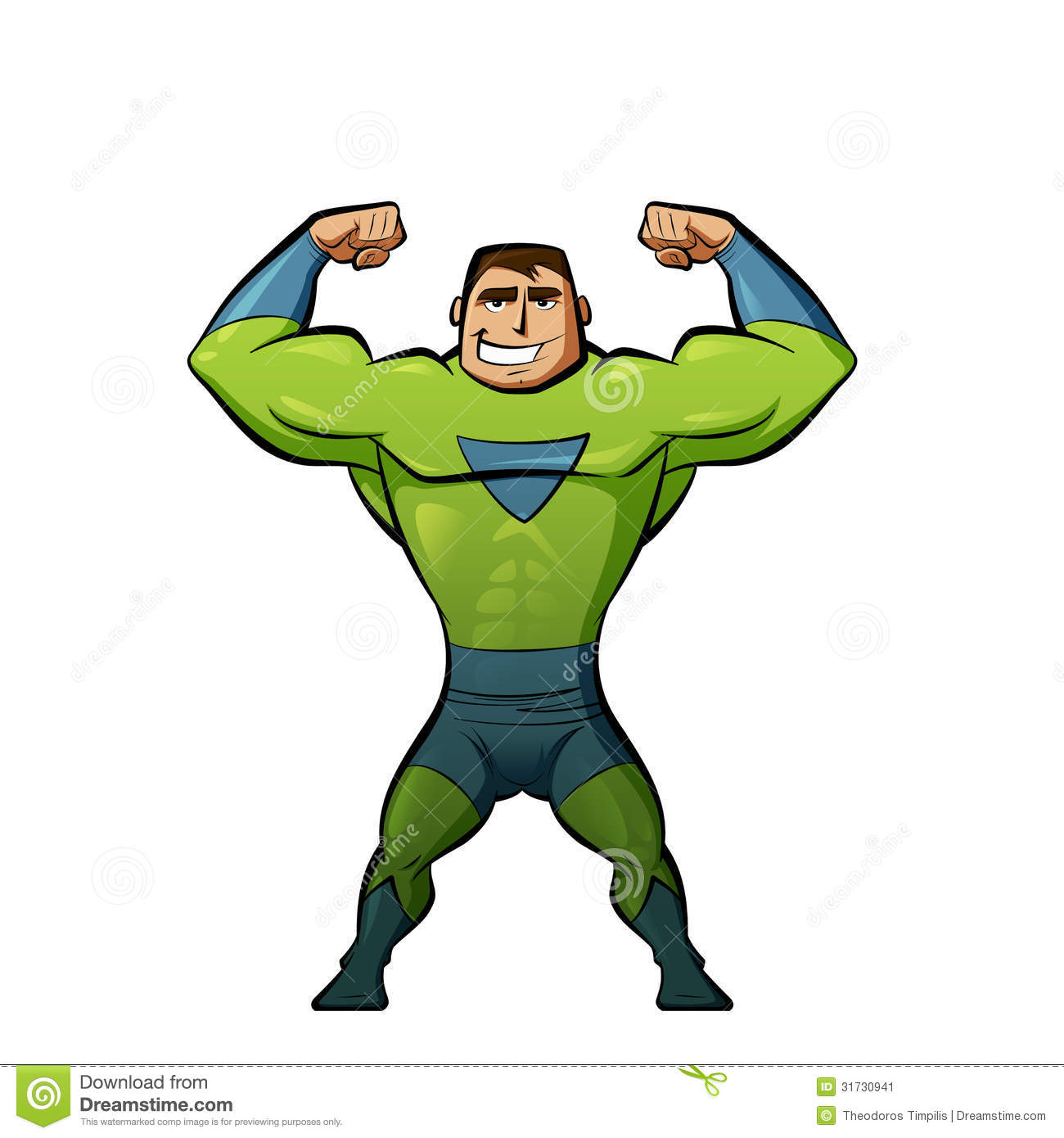 Cartoon Fitness Clipart
