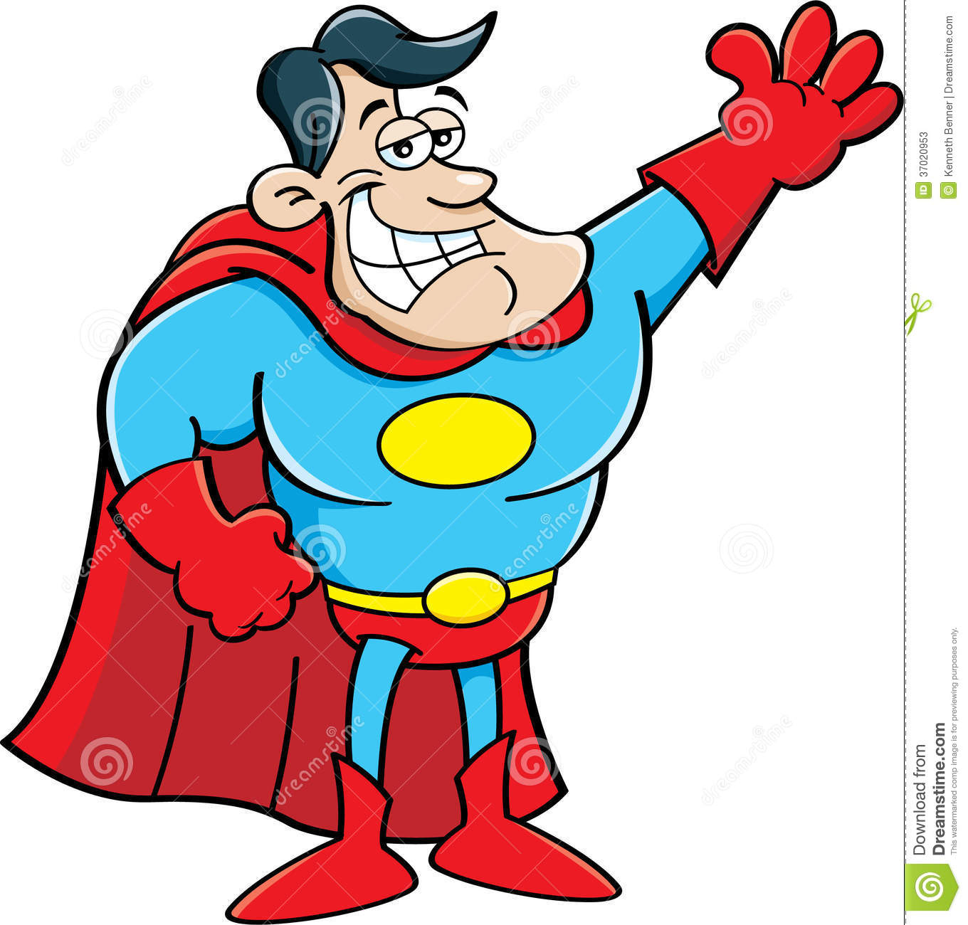 Super h ros de bande dessin e photos stock image 37020953 - Superhero dessin ...
