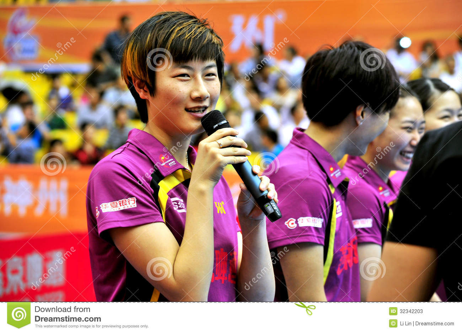 Super League de ping-pong de la Chine