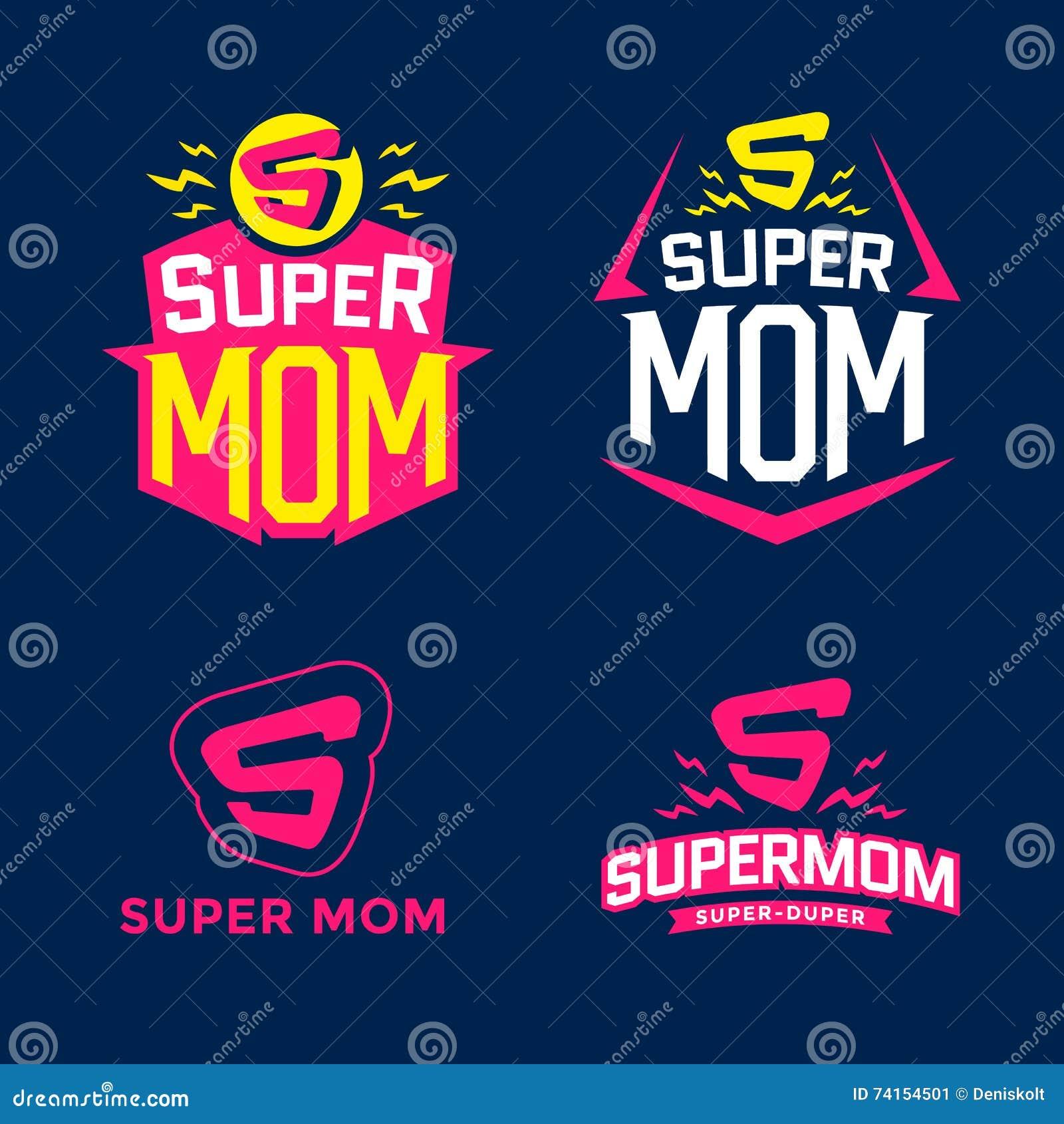 Super mama emblemat