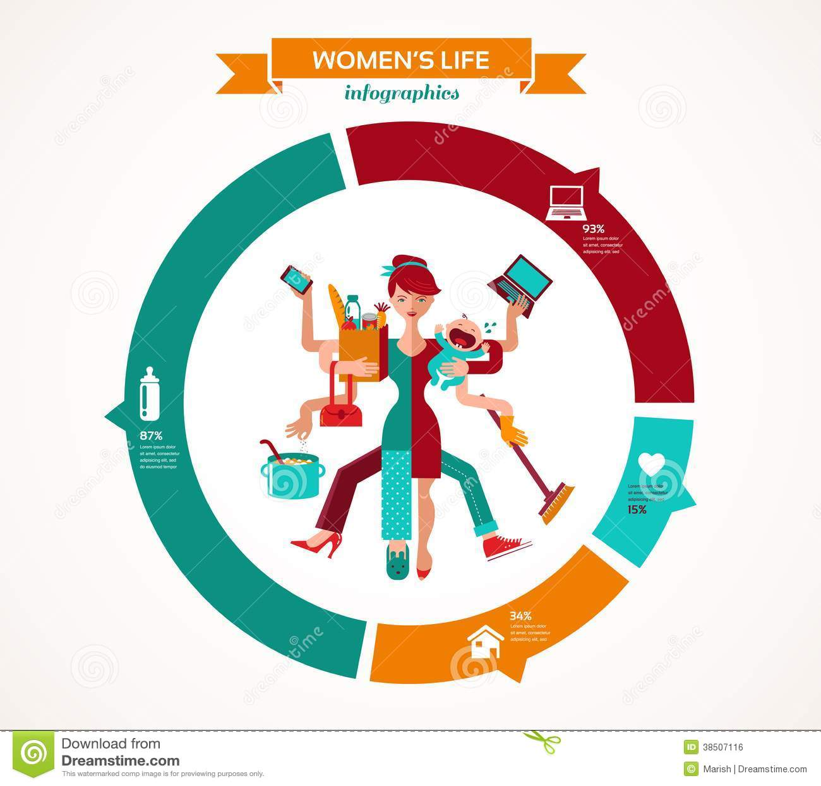 super mom infographic of multitasking mother royalty free stock image image 38507116 superhero vector clipart superhero vector art