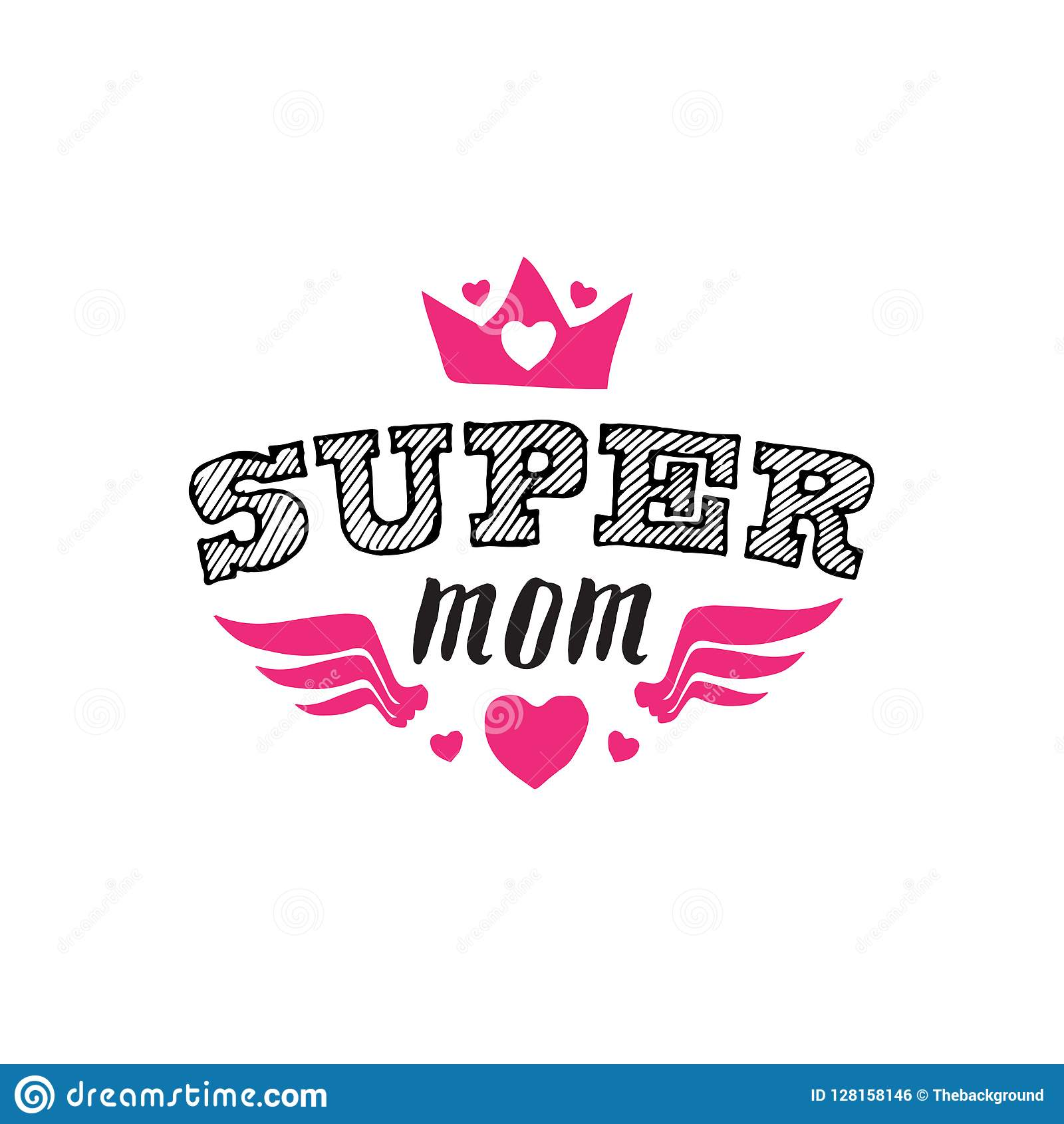 print for t shirt with lettering happy mothers day