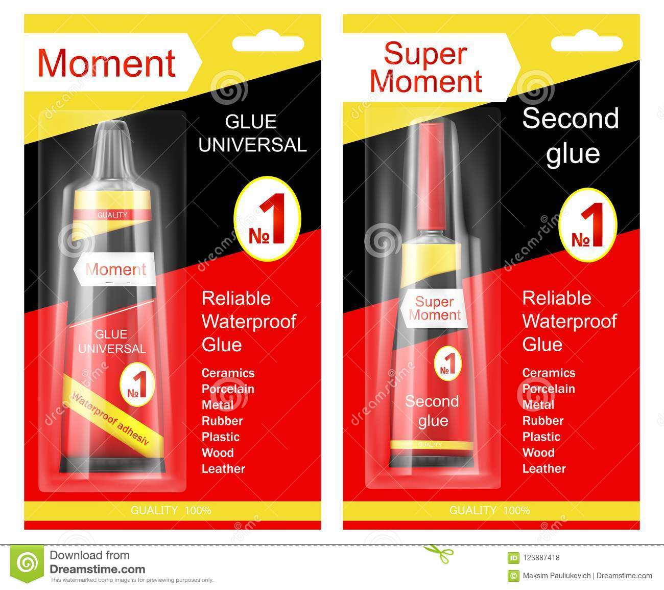 How to glue the glue moment 4