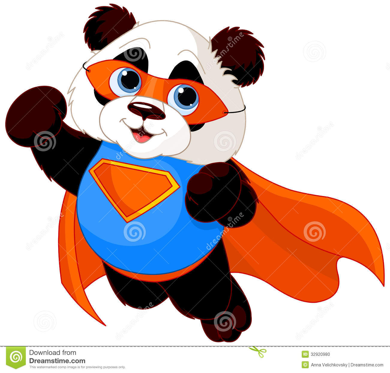 Super Panda Stock Photo - Image: 32920980