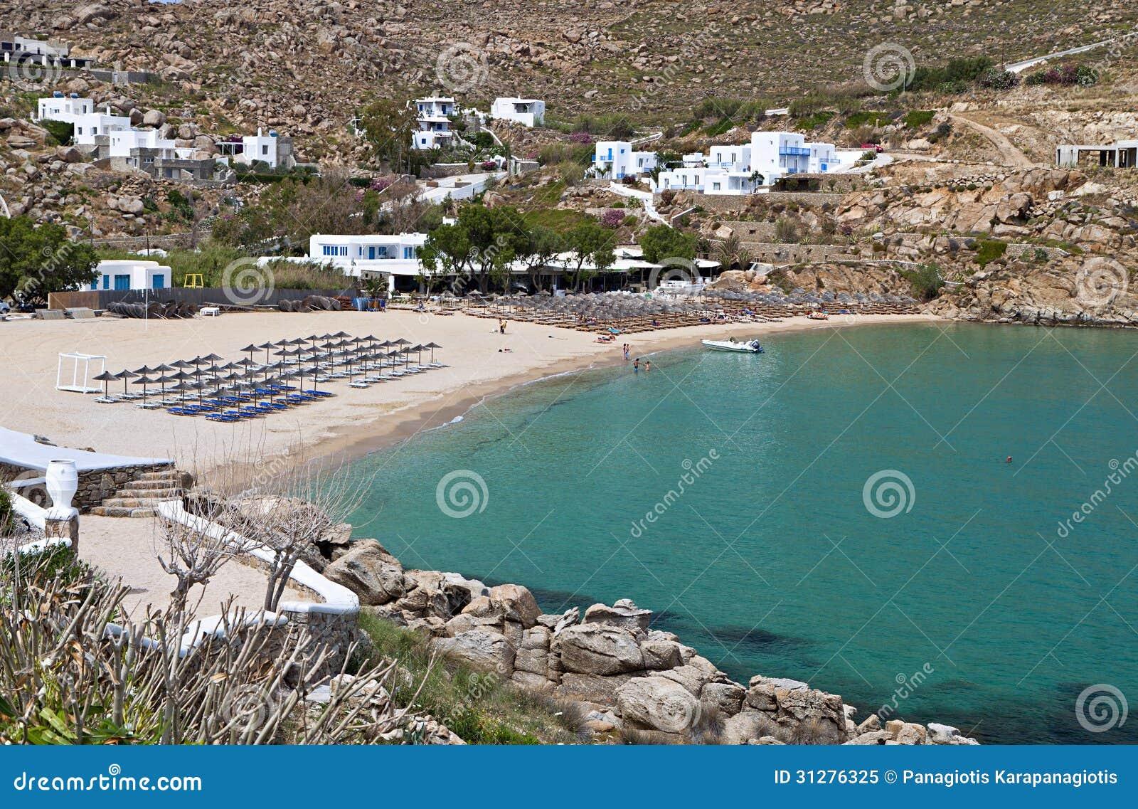 Super Paradise beach at Mykonos