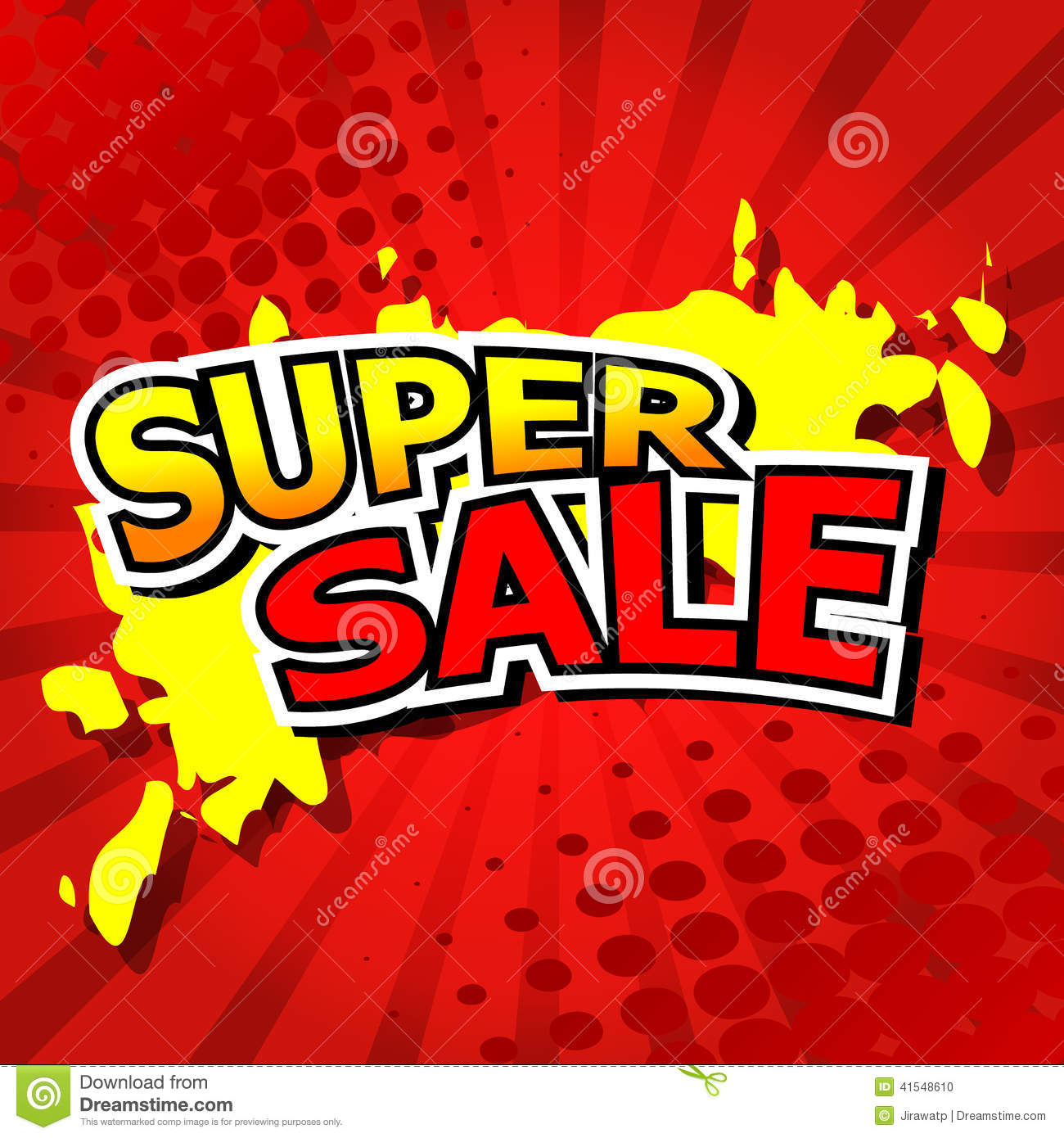 Super sale background with red stock vector image 41548610 for Poster prints for sale