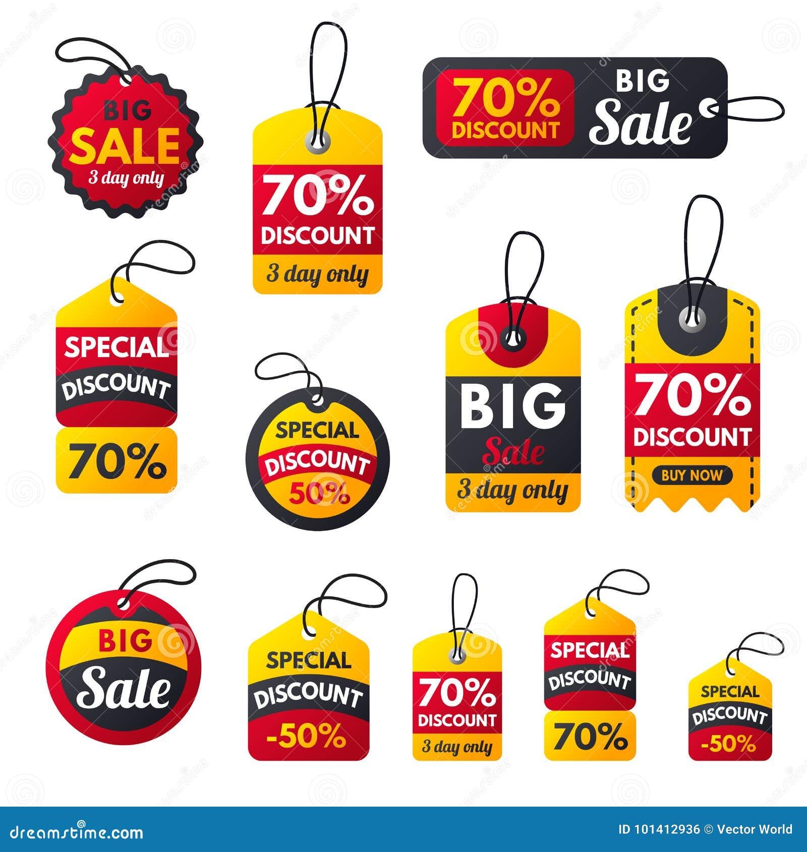 Super sale extra bonus red banners text label