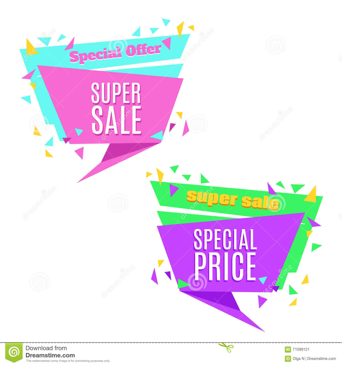 Poster design price - Royalty Free Vector