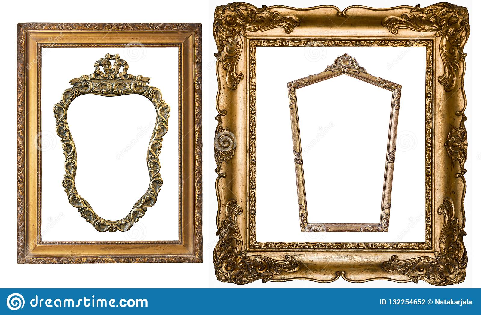 Super Set Of Gorgeous Vintage Gold Frames For Paintings And Mirr