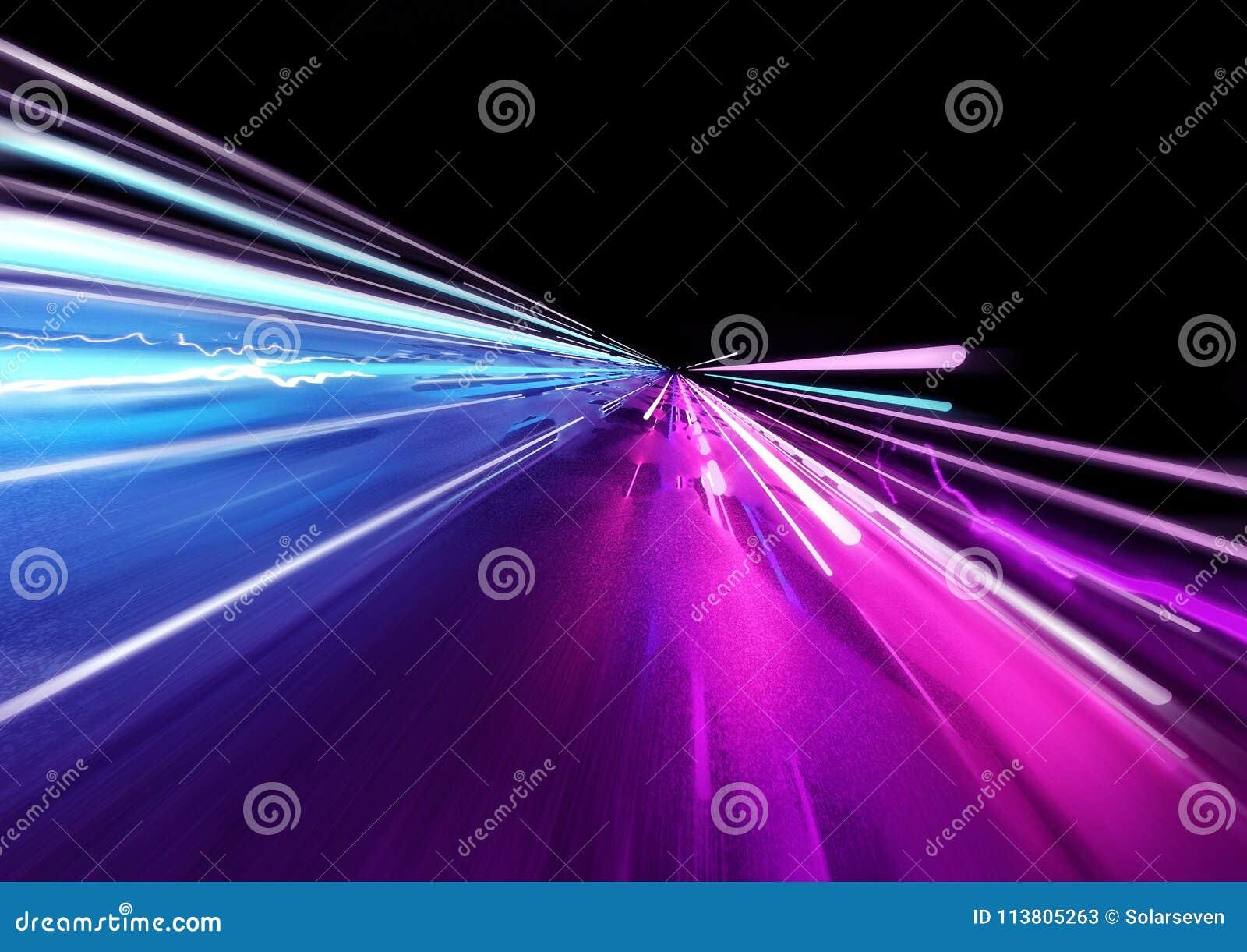 Super Snelle het Slepen Lichten