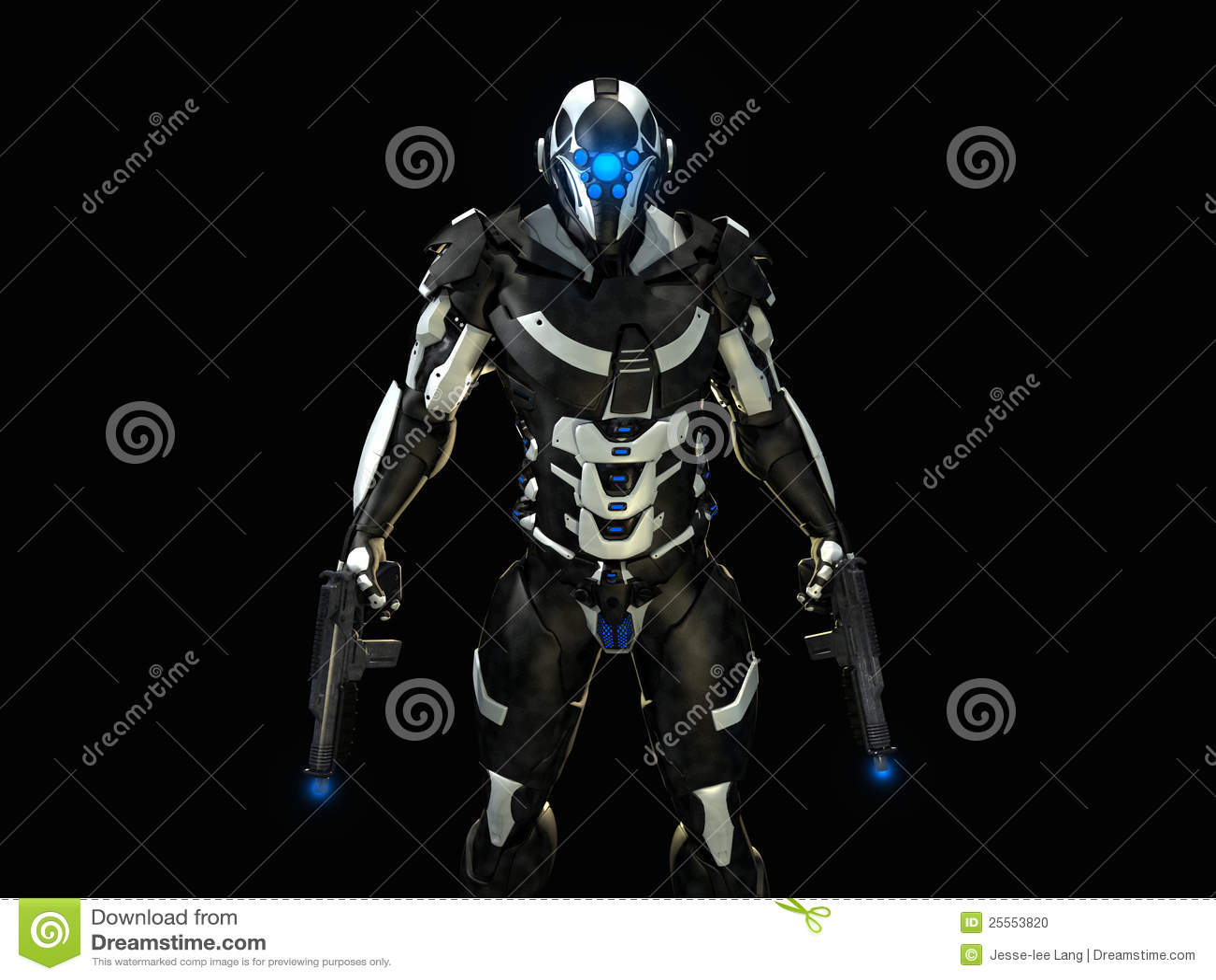 Super Soldier Stock Photo Image 25553820