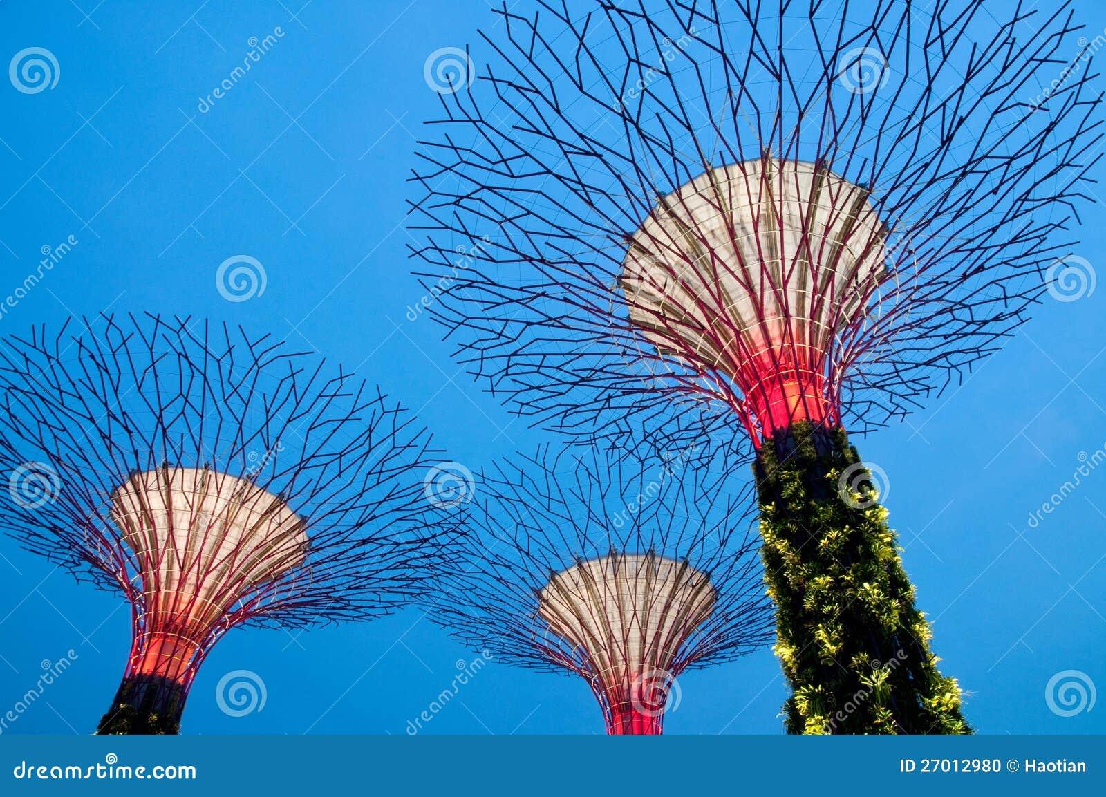 Superbäume in Singapur