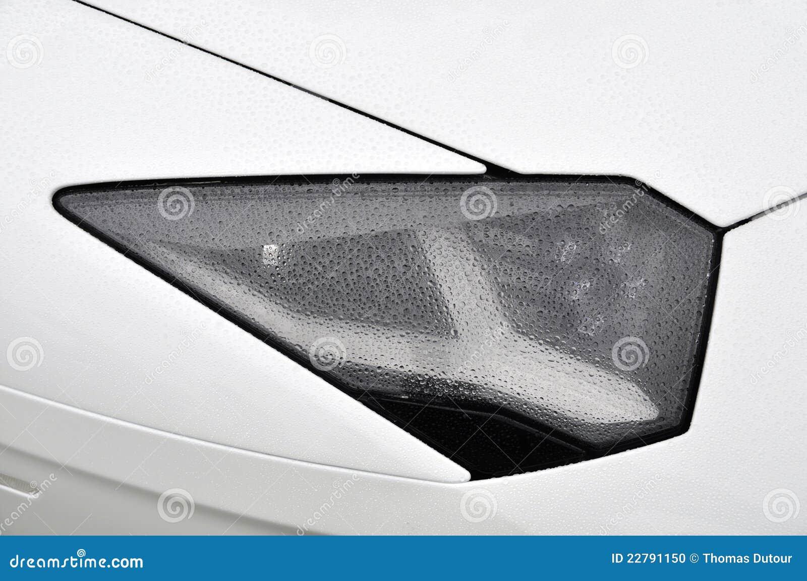 Supercar λευκό προβολέων