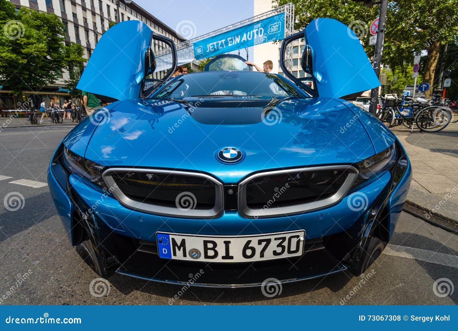 I8 Exterior: Supercar BMW I8 Editorial Stock Photo. Image Of Exterior