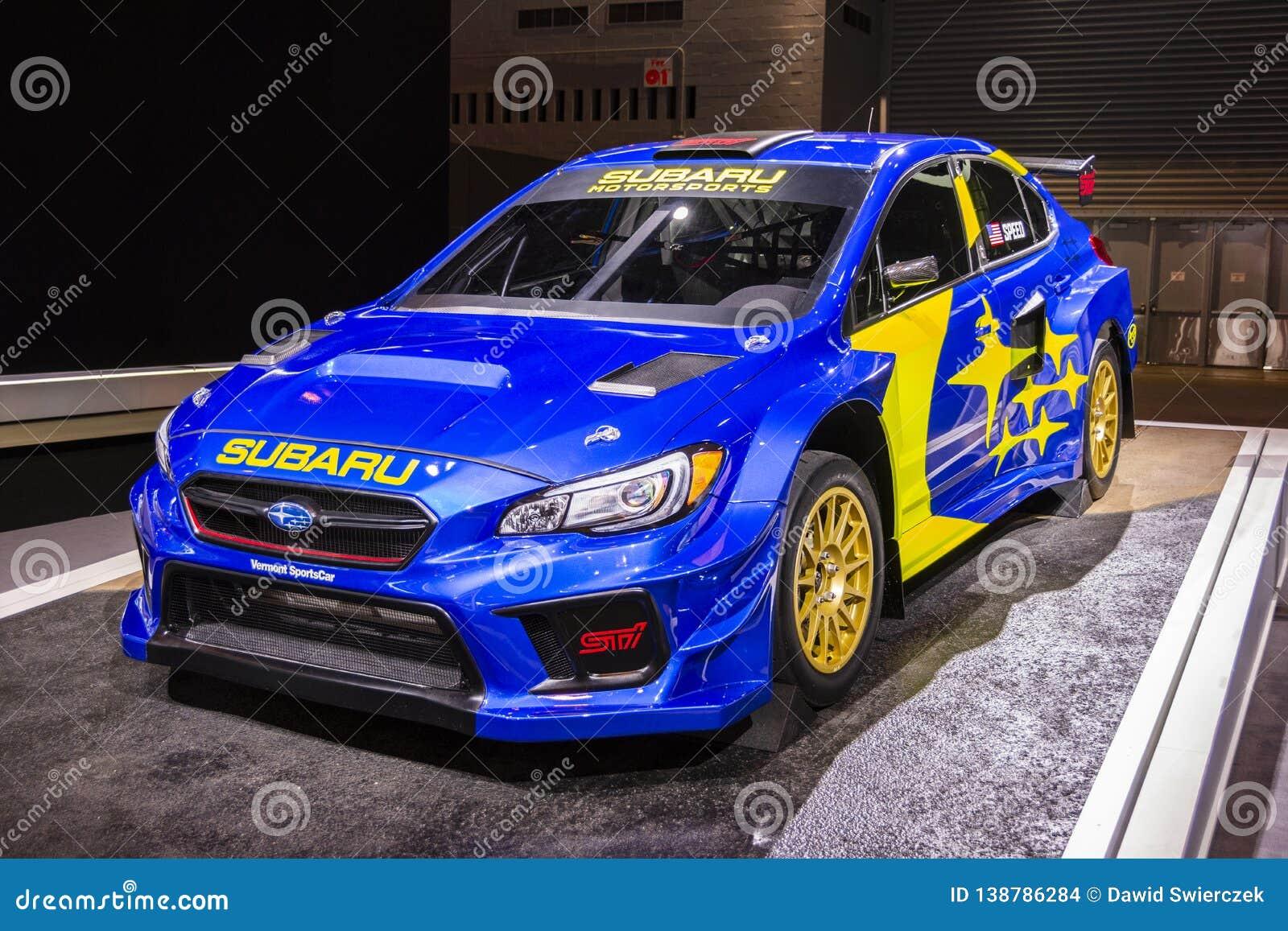 Supercar 2019 de STI VT19x Rallycross de Subaru WRX