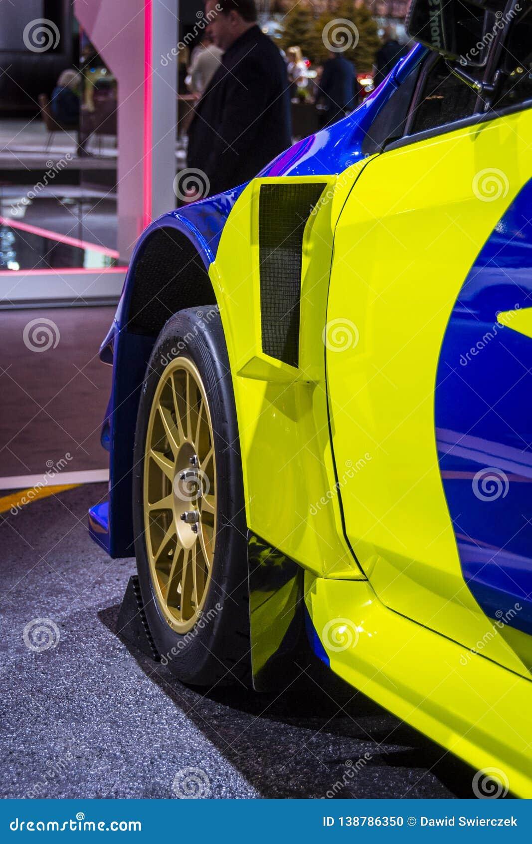 Supercar 2019 för Subaru WRX STI VT19x Rallycross