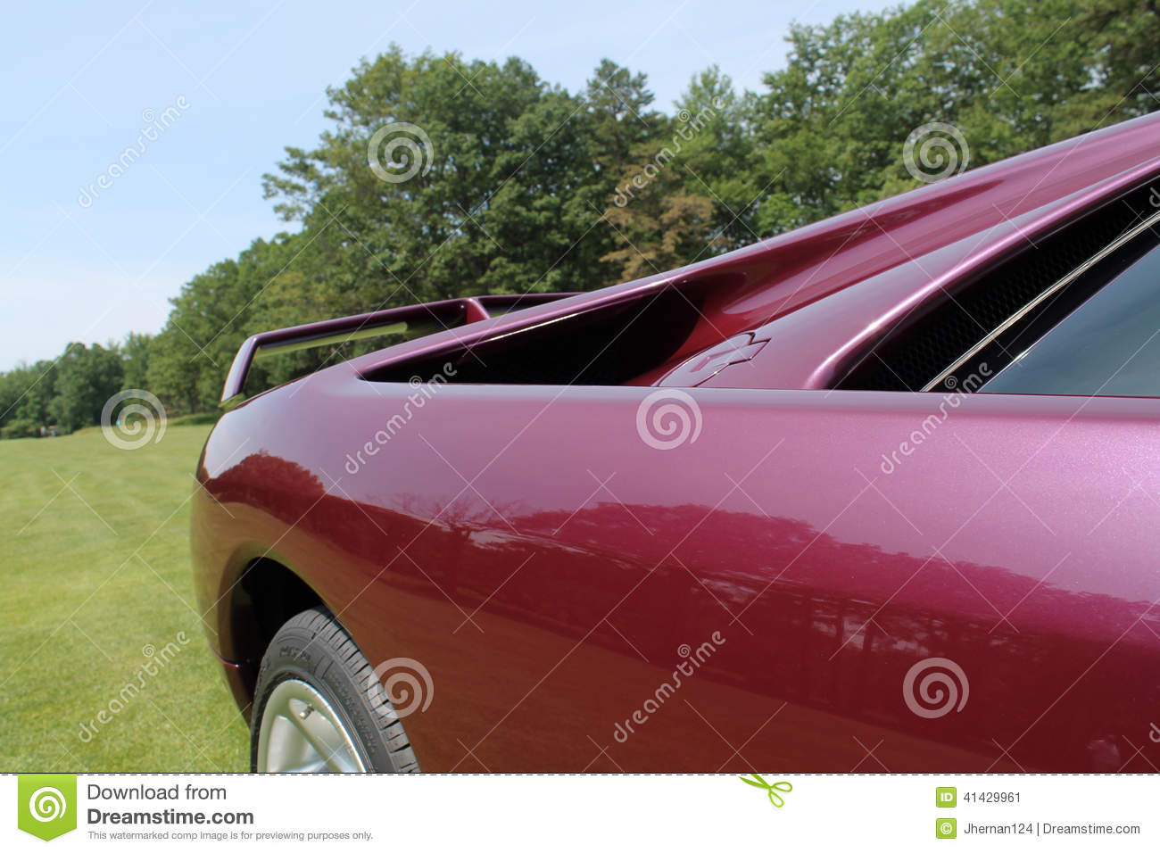 Supercar fender detail stock image  Image of cooling - 41429961